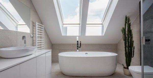 Современные ванные комнаты с ванной